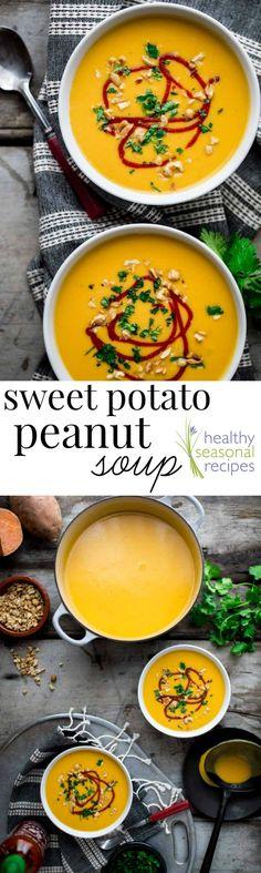 sweet potato and peanut soup - Healthy Seasonal Recipes