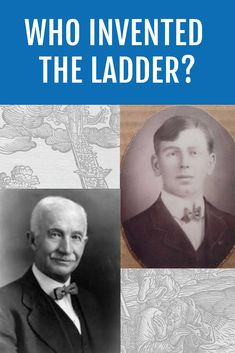 Who invented the ladder is a question that doesn't have any certain answer yet. Master carpenter John.H.Balsley from Connellsville, Pennsylvania, holds the patent for wooden folding step ladder and safety stepladder. #whoinventedtheladder #ladderhistory #history