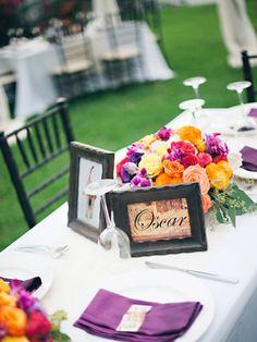 5 Fun Table Names - Project Wedding