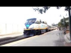 The Guy From Pittsburgh. Episode # 628. Amtrak train leaving Martinez, C...