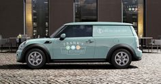 MINI Clubvan in Ice Blue. How would MINI Clubvan look with your personal seal?