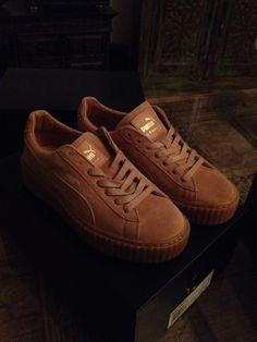 cheap for discount 42fb0 6773f Biete hier Nagelneue Puma Suede Creepers Rihanna Schuhe an....mit  kassenzettel .
