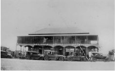 1928 Neilsons Grand Hotel, Biggenden. The hotel burnt down in October 1944. SLQ Description and Photo.