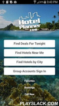 """Hotels, HotelPlanner.com Deals  Android App - playslack.com ,  ★★★★★ This app is awesome!!! Everyone should use it!★★★★★ Great deals, giveaways, and easy!!!★★★★★ Found a great hotel at an awesome price!Get the great hotel rates, detailed hotel information and easy booking of hotels on HotelPlanner.com in the palm of your hand. Get real-time hotel rates and availability from Hotels Nearby or Hotels Near Me with one click. You can make hotel reservations for the """"day of"""" check in while you are…"""