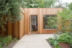 Garden Studios London | Why Have a Garden Studio | London Garden Studios Garden Lodge, Garden Cabins, Garden Architecture, Garden Buildings, Outdoor Buildings, Garden Workshops, London Garden, Shed Design, Garden Design