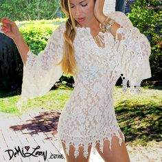 Dreamy must have coverup great for destination beach wedding