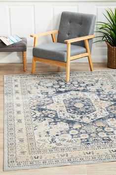 Rustic Rugs, Transitional Rugs, Rugs Online, Floor Rugs, Traditional Design, Home And Living, Living Rooms, Rugs On Carpet, Vintage Rugs