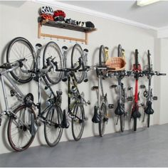 Awesome bike storage.