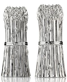 Closeout! Godinger Salt and Pepper Shakers, Asparagus
