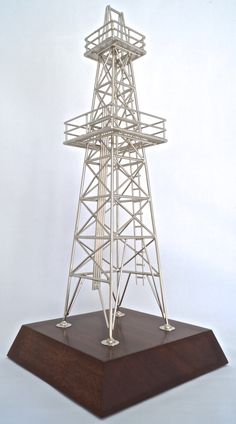Beau Oilfield Office Decorations Decor For The Oilman. These Reduced Scale Model  Oil Derricks Are Available
