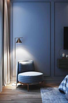 Captain Flint floor lamp – mooielight Modern Luxury Bedroom, Luxury Bedroom Design, Master Bedroom Interior, Bedroom Bed Design, Home Room Design, Contemporary Bedroom, Luxurious Bedrooms, Bedroom Decor, House Design