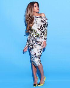 Rebecca Rhoades Vivienne Dress Poppy Asymmetric Neck Midi, Rebecca Rhoades, Prom dresses, Prom Dress, Evening wear