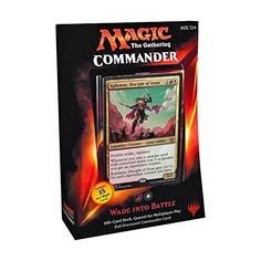 MTG Commander 2015 Edition Magic the Gathering  Wade Into Battle Red White Deck New Sealed -- Check out the image by visiting the link.Note:It is affiliate link to Amazon.