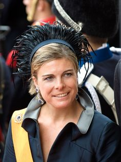 HRH Princess Laurentien of the Netherlands Dutch Princess, Dutch Queen, Fascinator Headband, Fascinators, Dutch Royalty, Three Daughters, Royal Jewelry, Medieval Fantasy, People Of The World