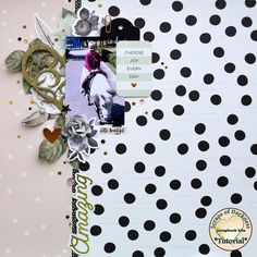 Scraps of Darkness scrapbook kits video layout tutorial w/our Sparkle & Shine kit, by Tatiana Yemelyanenko Mixed Media Scrapbooking, Scrapbooking Layouts, Diy Scrapbook, Scrapbook Pages, Image Layout, Choose Joy, Simple Stories, Marble Pattern, Pretty Pastel