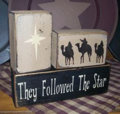 THEY FOLLOWED THE STAR--BLACK THEN FAWN FOR TOP COAT