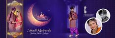 Muslim Wedding Album 6x18 PSD DM Sheet