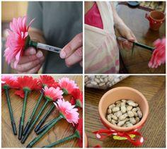 Mommy's Kitchen: Crafty Kitchen ~ Flower Pot Pens for Mother's Day & Teacher Appreciation