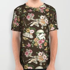 Botanic Wars All Over Print Shirt- $6.00 off All Apparel. Free Shipping Ends Tonight at Midnight!