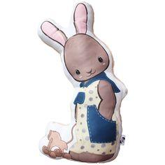 Fiú nyuszi forma párna - Boy bunny pillow