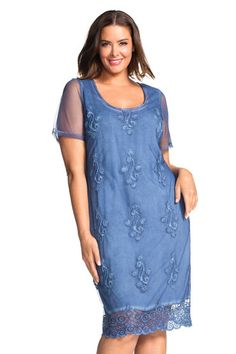 Buy Sara Embroidered Dress | Shop Womens Dresses All Womens Styles at EziBuy NZ