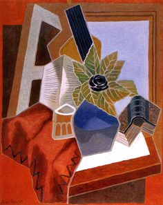 The Athenaeum - The Flower on the Table (Juan Gris - )