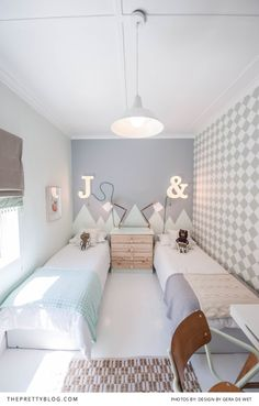 A beautiful pastel boys bedroom by Gera De Wet | Home Decor | Photograph by Breede Photography
