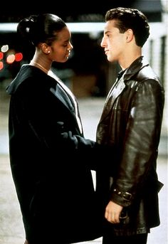 Lillo Brancato and Taral Hicks as Calogero 'C'  and Jane in A Bronx Tale