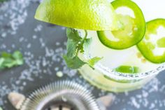 How to Make a Damn Good Spicy Margarita — This Is Mel Drake Jalapeno Margarita, Spicy Margarita Recipe, Frozen Watermelon Margarita, Margarita Recipes, Drinks Alcohol Recipes, Yummy Drinks, Healthy Drinks, Drink Recipes, Fun Drinks