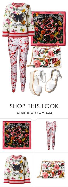 """Untitled #201"" by hibasheikh on Polyvore featuring Gucci and Paloma Barceló"