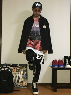 L.H.P HBA  misbhv Y-3 collaboration coordinate sty