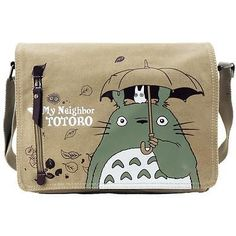Anime Mi Vecino Totoro Lona Mensajero Bolso de Hombro Cosplay Colección