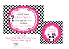 This Cute Baby Boy Panda Baby Shower Invitation & Favor Tags designed with a cute chevron pattern is perfect for any baby shower invitation, 1st birthday invitation or New Baby Birth announcement card. All wording and colors can be customized.  This listing is for a digital 4x6 or 5x7 JPG file of this fully customized Invitation & Favor Tags. Enjoy the ability of printing as many copies as you would like! It can be designed in portrait format as shown on image.   • Choose and purchase...