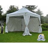 UnderCover 10x10 R-2 Professional Vending Aluminum Frame Instant Canopy with CRS Enclosure - UC-2R10CRS