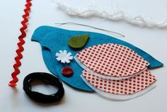 Although I'd like a different bird shape, the instructions here are great and the pattern is easy to modify. retro mama: Just around the corner