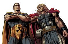 Hyperion and Thor