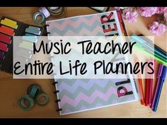 music teacher entire life planner 2015-16: weekly and rotational lesson planning, month and year at a glance(pre-dated for 2015-2016) gradebook, IEP at a glance, sub lesson and parent contact logs, recorder karate, national music standards, concert prep, home management binder, income and business tracker, seating charts, and more. 17 cover and spine designs. And you get free updates each year so you never have to buy another planner again! Editable so you can set it up to fit your exact…