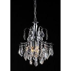 Warehouse of Tiffany Pendant Light Susan Crystal Large Pendant