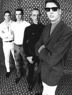 The Sunnyboys before they disbanded in 1983.