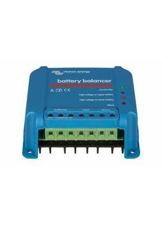 Battery balancer - helps to prolong your battery bank lifespan. http://www.e-giminija.lt/products/meters/Victron-12V-akumuliatoriu-balansuoklis