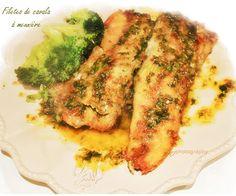 Bentos Culinárias: Filetes de cavala à meunière - Peixe a Moleira
