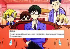 Ouran High School Host Club | Tumblr Text Posts