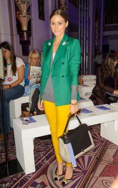 Olivia Palermo at London Fashion Week : Anya Hindmarch Spring/Summer 2013