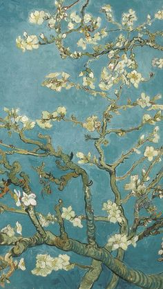 Van Gogh's painting in iPhone wallpaper Iphone Wallpaper Van Gogh, Cool Iphone Wallpapers, Japanese
