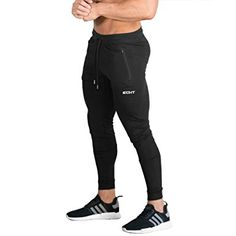 0a53948019148e Galaxy by Harvic Mens Soccer Athletic Training Sweat Track Pants Review.  See more. ECHT Tapered Joggers Black V2 Men Pants Gym Wear Sweat Trousers  Slim Fit ...