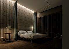 Baan Lom Hai Jai, Bangkok, Thailand on Behance Bangkok Thailand, Design Projects, New Homes, Interior Design, Bedroom, Behance, Modern, House, Furniture