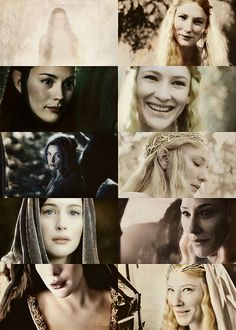 But first I will plead this excuse,' said Éomer. 'Had I seen her in other company, I would have said all that you could wish. But now I will put Queen Arwen Evenstar first, and I am ready to do battle on my own part with any who deny me. Shall I call for my sword?' Then Gimli bowed low. 'Nay, you are excused for my part, lord,' he said. 'You have chosen the Evening; but my love is given to the Morning. And my heart forebodes that soon it will past away for ever.'