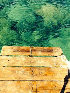 Madera y agua