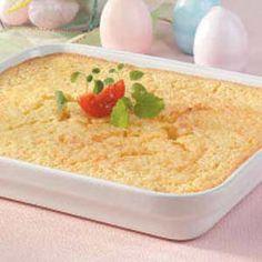 #tasteofhome #easterdinner  Corn Pudding