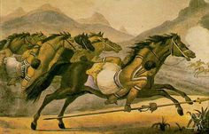 Desenho: J. B. Debret, 1834   kadiweu